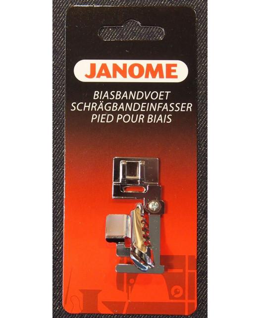 Semelle pose biais JANOME 7mm