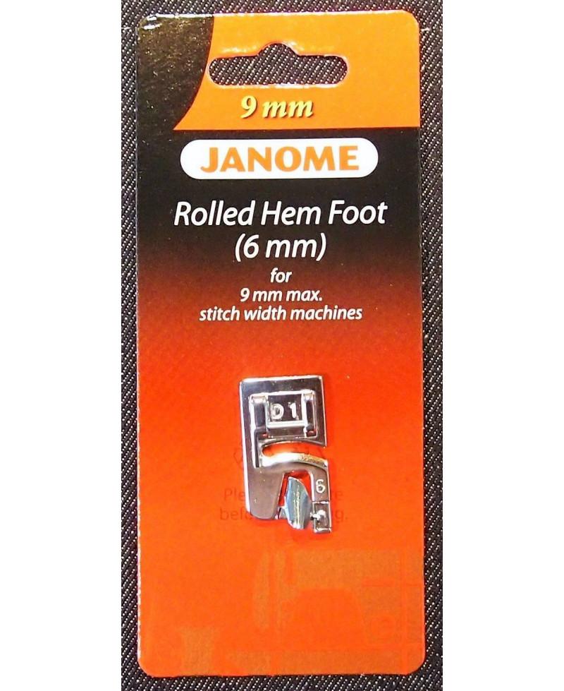 SEMELLLE ROULLOTER 6mm (Mc 9mm)