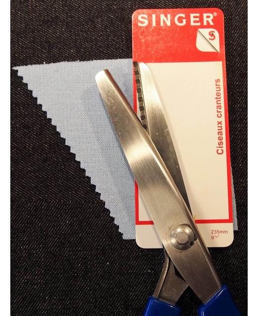 Ciseaux cranteurs SINGER 23.5 cm