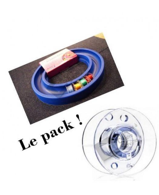 Pack, 20 canettes standard + 1 Anneau magique
