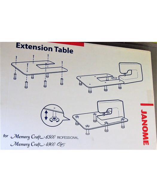 Table d'extension machine à coudre Janome