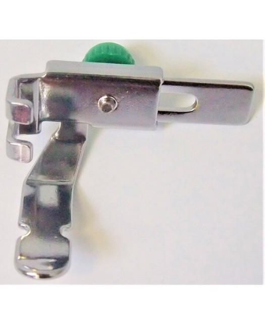 Pied fermeture éclair/ganseur/passepoil réglable