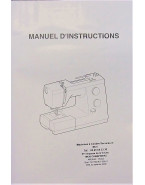 Manuel d'instructions JANOME 725S