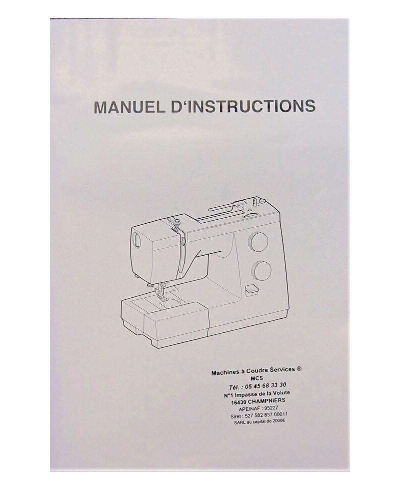 Manuel d'instructions JANOME 725S
