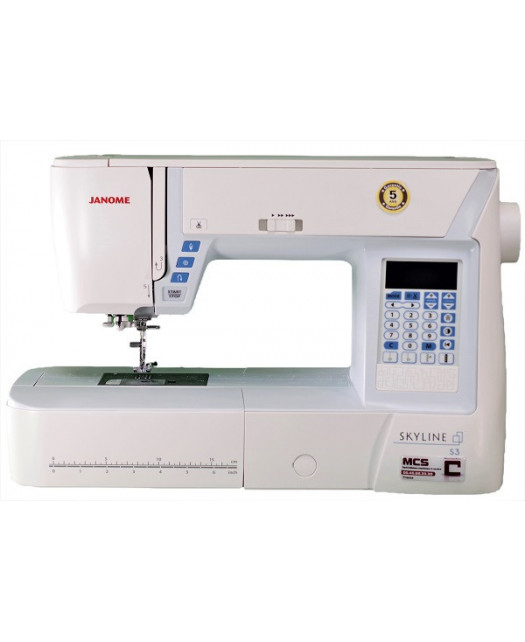 JANOME SKYLINE S3 BONUS + Table d'Extension