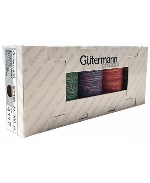 Coffret Fils Gütterman Coton n°30 300m