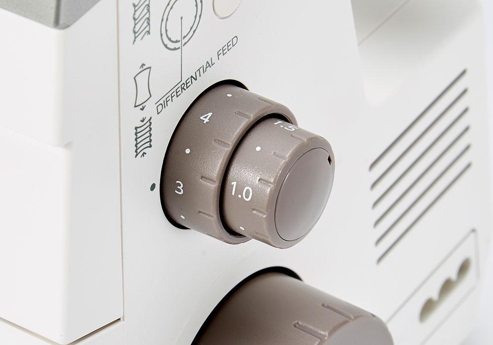 boutons de réglages précis