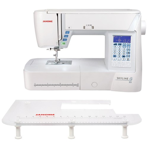 Janome skyline S3 Bonus avec table d'extension