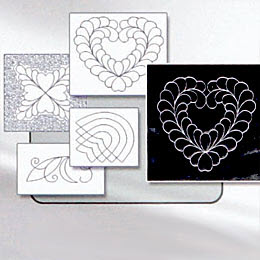 plus 100 motifs de quilt intégré