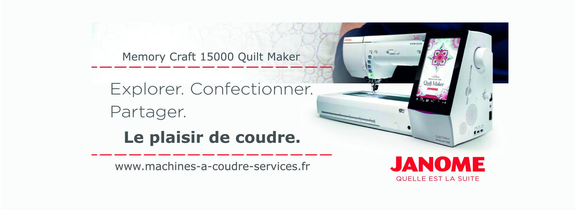 slider janome 1500 quilt maker v3